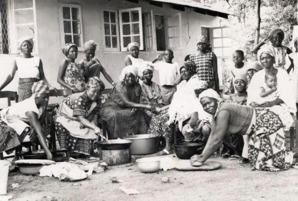 Wedding Preparations, early 1970s, Lafia Road, Kaduna. Courtesy of Nigerian Nostalgia Project